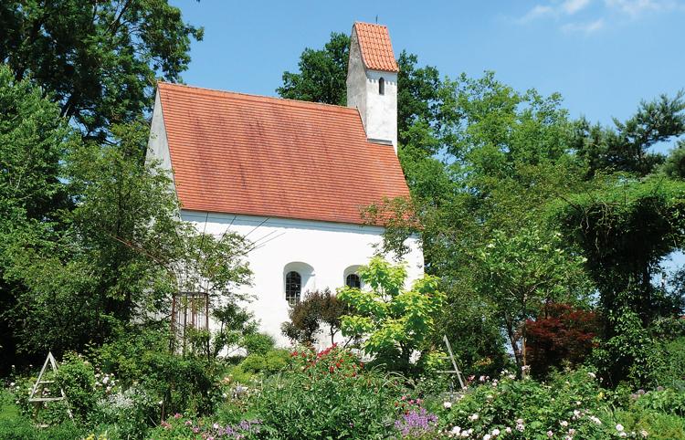 Gärtnerei mit Kapelle