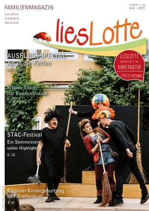 Titelbild liesLotte Ausgabe 71 - August/September 2021